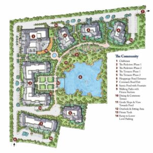 Fountaingate Gardens Site Plan