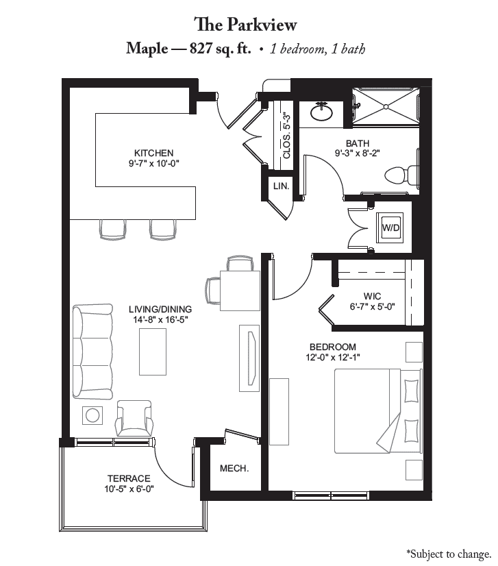 The Maple Floor Plan