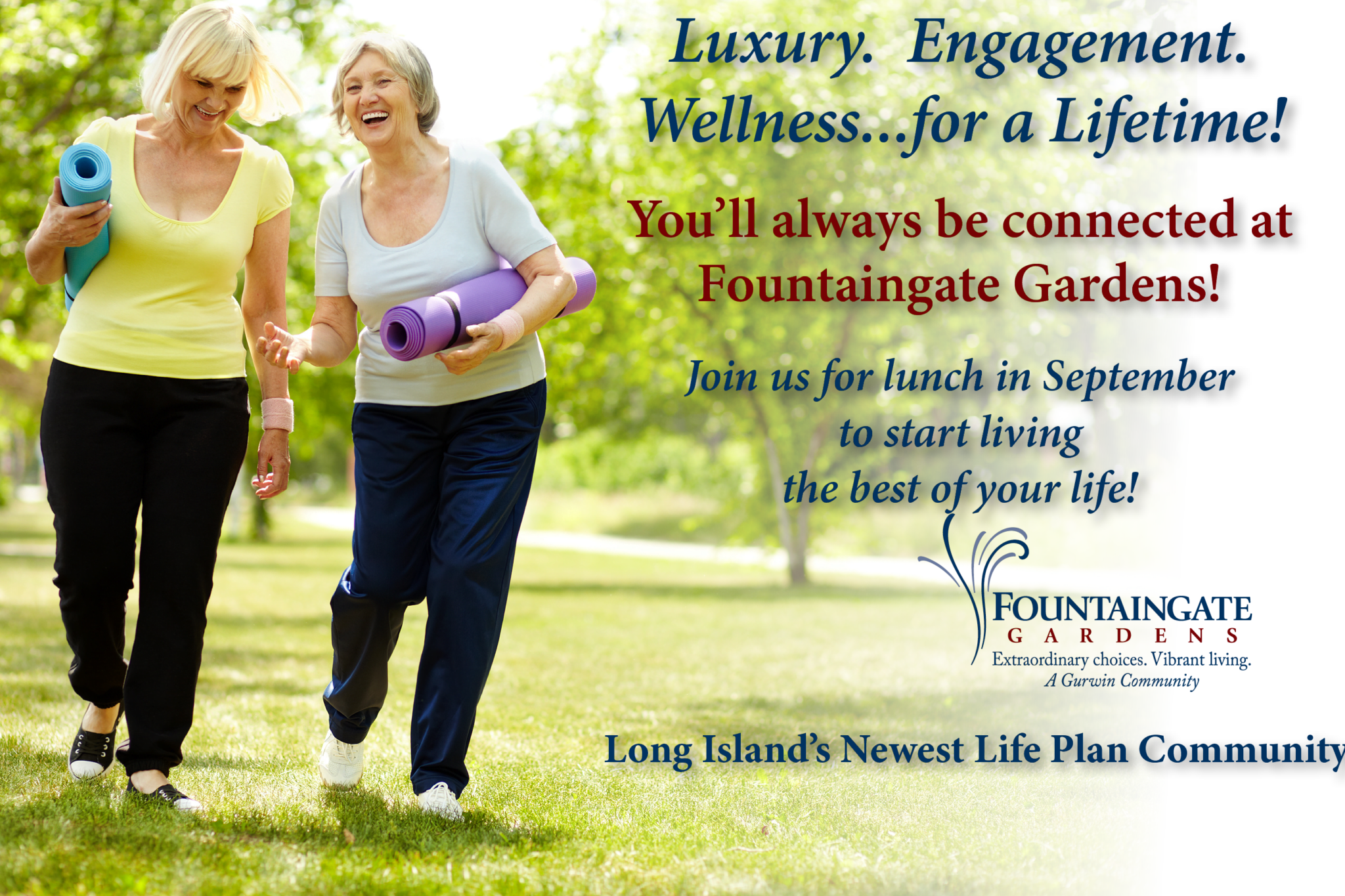 Fountaingate Gardens is independent living at it's best!